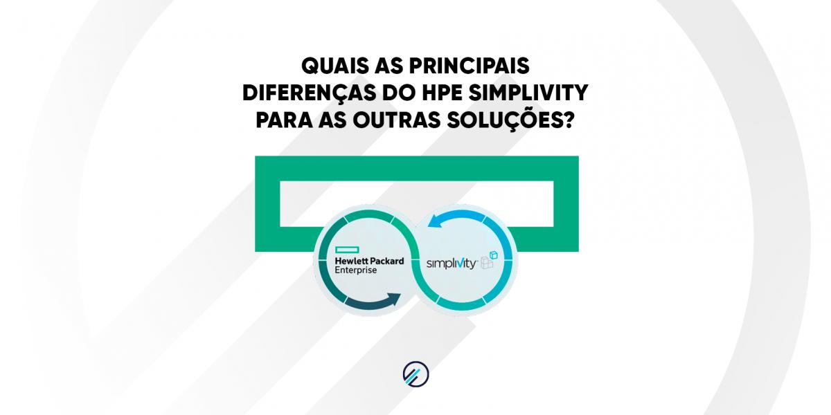 O que torna o HPE SimpliVity diferente de outras soluções-MPE