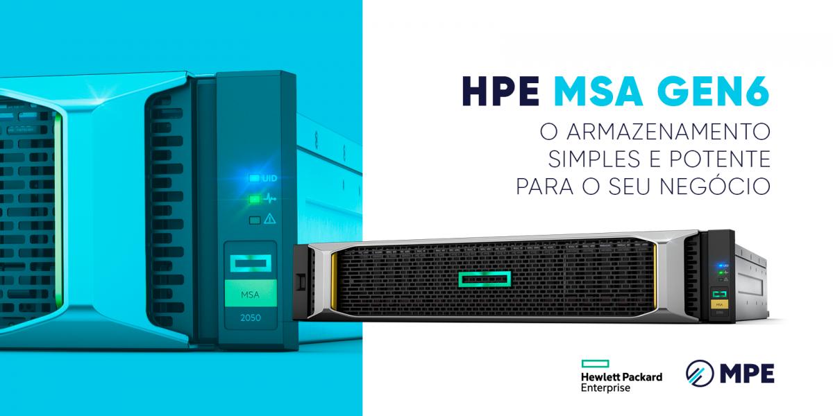HPE MSA Gen6